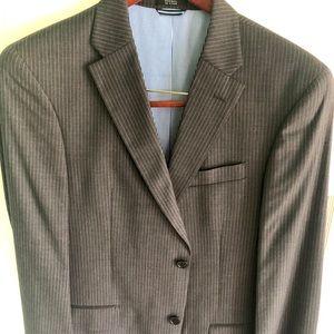 Tommy Hilfiger Pinstripe Wool Suit 40R 34x34